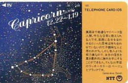 Capricorne Capricorn Zodiaque Zodiac Télécarte  B 303 - Zodiac