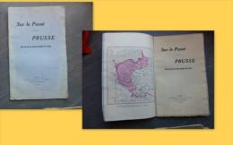 Sur Le Passé De La Prusse, Avec Carte Provinces Polonaises, 1915 ; Ref C 25 - Livres, BD, Revues