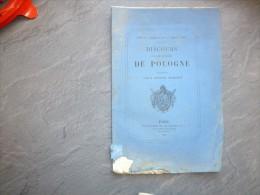 Discours Sur Les Affaires De La Pologne, Sénateur BONJEAN, Mars 1863 ; Ref C 25 - Livres, BD, Revues