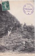 Carte Postale     BELLE ILE EN MER    L´escalier  De La Grotte De L´apothicairerie - Belle Ile En Mer