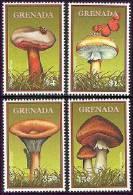 GRENADA  2913-6  MINT NEVER HINGED SET OF STAMPS OF MUSHROOMS  #  S-103   ( - Hongos