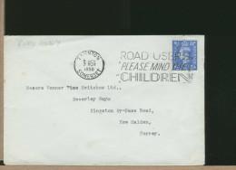 GREAT BRITAIN -  TAUNTON - ROAD USERS - PLEASE MIND THE CHINDREN  1950 - Incidenti E Sicurezza Stradale