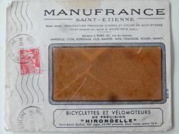 """Manufrance St Etienne Pub Bicyclettes Et Velomoteurs """"Hirondelle""""1951 - Sports & Tourisme"""