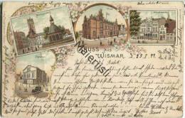 Wismar - Post - Hauptwache - Theater - Gel. 1899 - Verlag Reemt Eenboom Wismar - Wismar