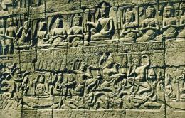 AK Asien > Kambodscha CAMBODIA SIEMREAP BAYON ANGKOR  ANSICHTSKARTE - Kambodscha