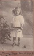 CDV Kid Ljubomira Borlek 1913 / Francesco Benque Trieste Italy Italia - Identified Persons