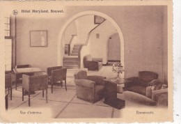 BOUWEL : Hôtel Maryland - Binnenzicht (2 Timbres) - Grobbendonk