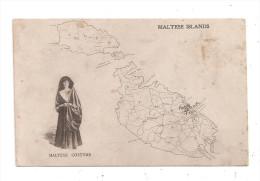 Maltese Islands Costume -(B.912) - Malta