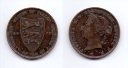 Jersey 1/24 Shilling 1877 H - Jersey