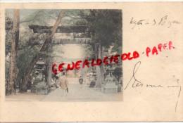 ASIE - JAPON -   KYOTO   BELLE CARTE PRECURSEUR COLORISEE - Japon