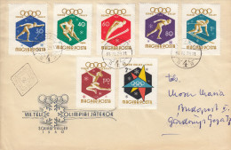 OLYMPISCHE SPIELE-OLYMPIC GAMES, SQUAW VALLEY 1960, Special Cover/stamp/postmark !! - Inverno1960: Squaw Valley