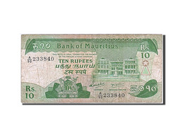 Île Maurice, 10 Rupees, Type 1985-1991 - Maurice