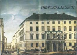 Brochure.- The Postal Museum At Lilla Nygatan 6 In The Old Town Of Stockholm Sweden - Sverige. 4 Scans - Toeristische Brochures