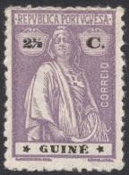 Portuguese Guinea, 2 1/2 C. 1914, Sc # 147, MH. - Portuguese Guinea