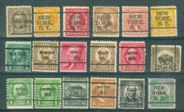U.S.A. - PRECANCELS - Selection Nr 286 - United States