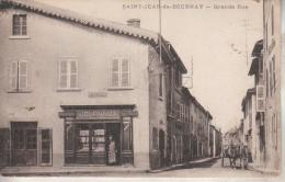 Saint-Jean De Bournay  (38-Isère)  Grande Rue - Saint-Jean-de-Bournay
