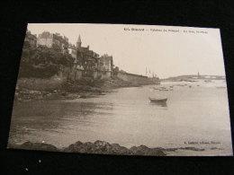 Cpa Du 35 Dinard  - Falaises Du Prieuré  Au Loin St Malo    No 156        DIN2 - Dinard