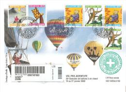 Carta De Suiza De 2002 - Lettres & Documents