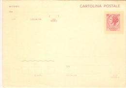 2149/FG/16 - CARTOLINA POSTALE 40 LIRE SIRACUSANA - Cartoline