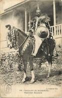 Ref K986- Souvenir De Djibouti - Guerrier Abyssin Et Son Cheval   - Carte Bon Etat - Djibouti