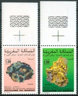 1987 Marocco Minerali Minerals Mineraux Set MNH** B636 - Minerals