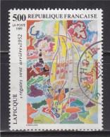 """= Série Artistique: """"Régates Vent Arrière"""" De Lapicque N°2606 Oblitéré - France"""