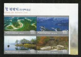 VISIT SOUTH-KOREA 2015. Tourisme.  Bloc De 4 Neufs ** - Korea, South