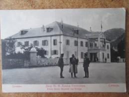 CETTINJE . PALAIS SEINER MAJESTAT DES KONIGS - Montenegro