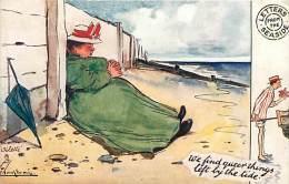 Ref K946- Illustrateur - Tuck -raphael -ollette Remarque-bord De Mer - Carte Bon Etat - Postcard In Good Condition - - Tuck, Raphael