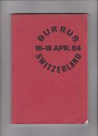 Auktionskatalog Sammlung Burrus 16-18-April 1964 Von Robson Lowe Ltd - Catalogues De Maisons De Vente