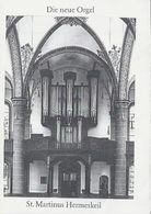 Folder.- Die Neue Orgel. St. Martinus Hermeskeil. Met Disposition. 2 Scans - Toeristische Brochures