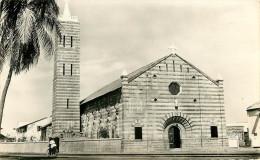 Afrique - Dahomey - Cotonou - Cathédrale Notre Dame De La Miséricorde - Semi Moderne Petit Format - Bon état - Dahomey
