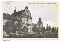 Lublin - Augustiner Kirche 1916 - Kosciol Po-Augustjanski - Pologne - Poland - Pologne