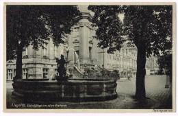 Legnica- Liegnitz - Gabeljürge Am Alten Rathaus -  Pologne - Poland - Pologne