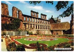 Cpa Heidelberg  Schloßruine Zur Zeit Der Blumentage - De Heidelberg à Ile Maurice - Heidelberg