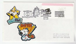 1993 USA COVER EVENT Pmk POTTERS MILL SESQUINCENTENNIAL Bellevue  WitH CARTOON DOG LABEL Stamps - United States