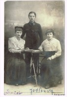 Photo Familie - étudiant - Crakow - Cracovie- Krakow - Poland-Pologne-zaklad Fotograficzny Pawlikowski Kraköw - Cartes Postales