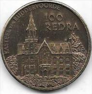 100 REDRA 1983 RUDDERVOORDE - Gemeentepenningen