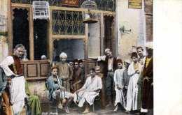 Arabisches Cafe In Ägypten Karte Um 1910 - Ägypten