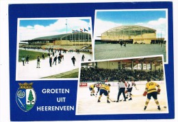 ST-289    HEERENVEEN : Thialf-Icescatestadion - Stades