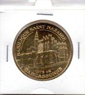 Monnaie De Paris :  Cité De Carcassonne - Basilique Saint Nazaire - 2012 - Monnaie De Paris