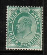 INDIA  Scott # 61* VF MINT LH - India (...-1947)