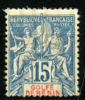 Benin (1893) N 25 * (charniere) - Unused Stamps