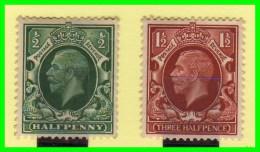 GRAN BRETAÑA  ( INGLATERRA )  SELLOS  EDWARD VII AÑO 1934 - 1902-1951 (Re)