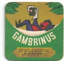Stella  Artois      Leuven   1974 - Beer Mats