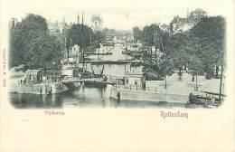 - Pays Divers - Ref -F874 - Pays Bas - Nederland - Rotterdam - Wijnhaven - Carte Bon Etat - - Rotterdam