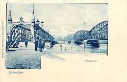 - Pays Divers - Ref - F871 - Pays Bas - Nederland - Rotterdam - Maasbrug -  Carte Bon Etat - - Rotterdam