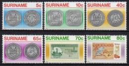 Surinam - Suriname - 1983 - Yvert N° 901 à 906 **  - Monnaies - Surinam