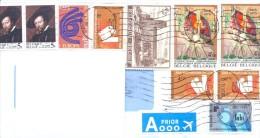 2014. Belgium, The Letter By Prioritairi Post To Moldova - Belgium