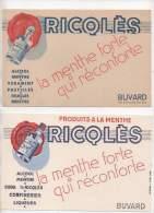2 Buvards - Ricqlès - Liquor & Beer